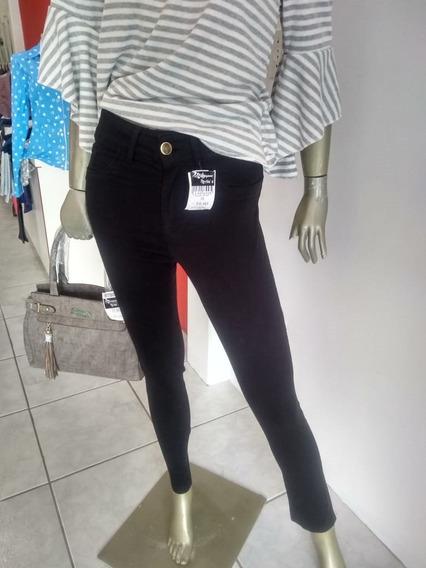 Calsa Jeans Colorida Preta