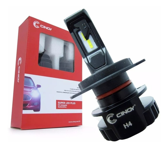 Kit Led Plus H4 2d 6500k /6000 Lumens /cinoy Foco Top