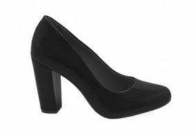 98a6b31aa2 Scarpin Nobuck Azul Mariotta Feminino - Sapatos no Mercado Livre Brasil
