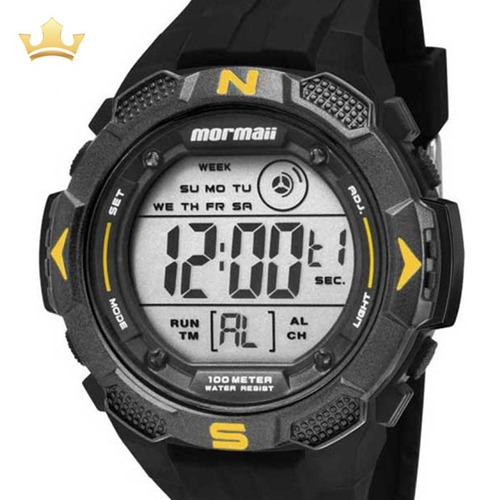 Relógio Mormaii Masculino Mo2908/8y Com Nf