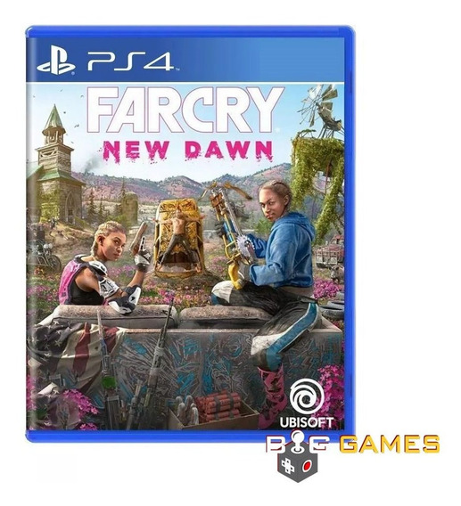 Far Cry New Dawn - Ps4 - Midia Fisica Lacrado