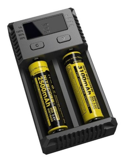 Carregador Niticore+ 2 Baterias Sony Vt5