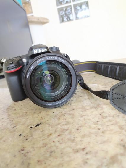 D 7100 Nikon + Lente 17-50 Sigma 2.8 , Vr - 117 Mil Clicks -