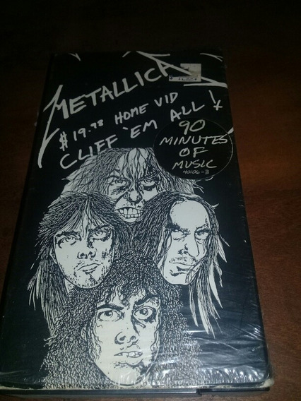 Metallica Vhs Cliff Em All Y 2 Years And A Half In The Life