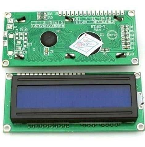 Display Lcd 16x2 Backlight Azul E Escrita Branca