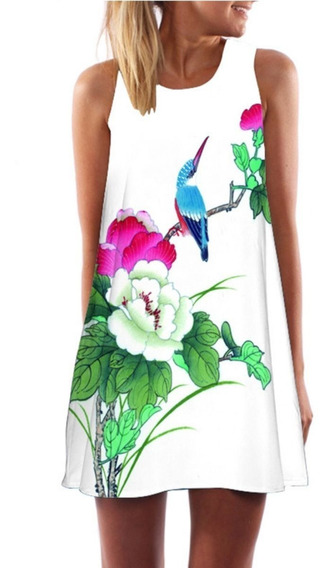 Vestido Feminino Curto Rodado Moda Roupas Femininas