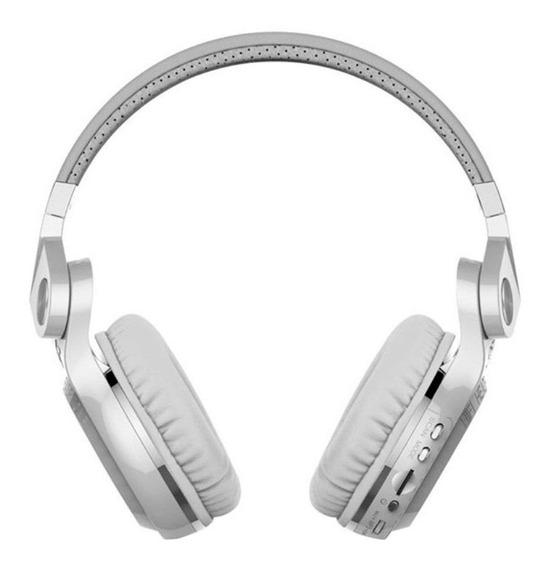 Fone de ouvido sem fio Bluedio T2+ white