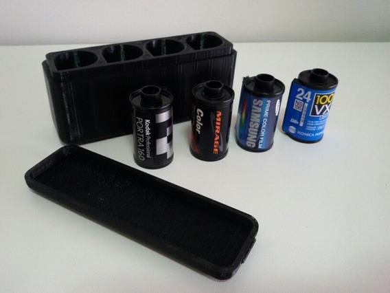 Case Para 4 Filmes 35mm