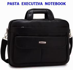 Pasta Executiva Notebook Couro Sintético