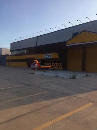 Imagem 1 de 15 de Galpão Comercial 5000 M² Frente Para Rodovia, Itaquaquecetuba - Ga-580