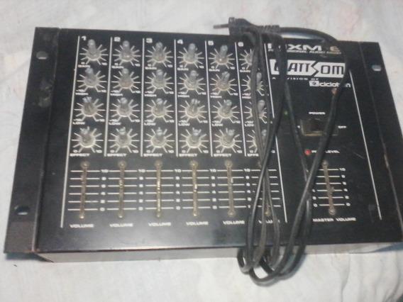 Mesa De Som Wattsom Mxs 5 Canais Audio Mixer (ciclotron)