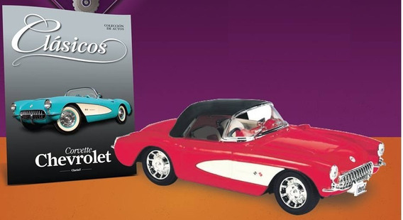 Coches Clásicos. Chevrolet Corvette (1955). 1/36