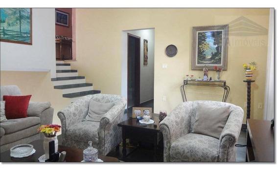Casa 271m² Com Espaço Gourmet Churrasqueira E Quintal, Parque São Quirino, Campinas - Ca0090. - Ca0090