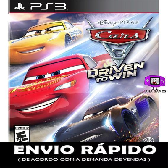 Carros 3 - Jogo Digital Ps3