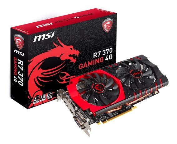 Placa De Video Vga Msi Amd Radeon R7 370 Gaming 4g Oc Gddr5