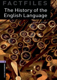 The History Of The English Language - Oxford Bookworms Fac
