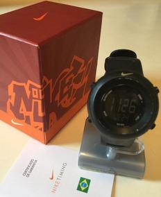 Relógio Nike Gorge Preto Wk0010 - Com Caixa Manual Original!