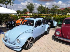 Vocho Con Remolque Y Asador Volkswagen 1999