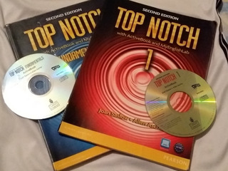 Ingles Top Notch Fundamentals + Cd Y Top Notch 1 + Cd