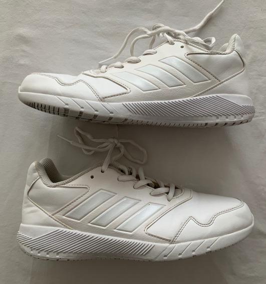 adidas. Zapatillas Cuero. Blancas. Talle 38 (us 5,5)