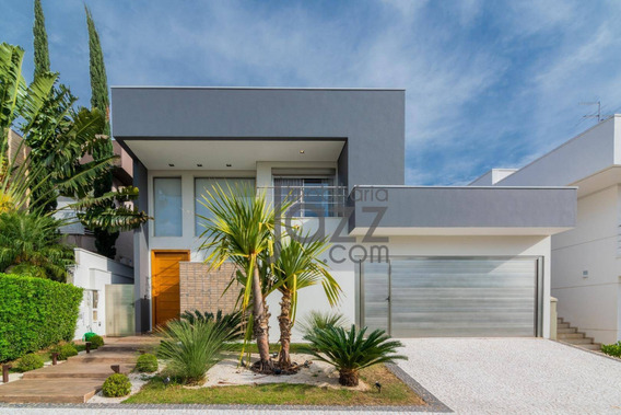Deslumbrante Casa Com 4 Suítes À Venda, 298 M² No Cond. Villa Lobos - Paulínia/sp - Ca4404