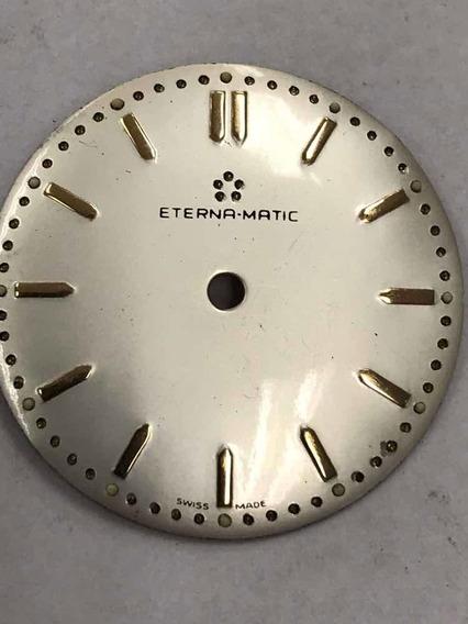 Mostrador Relógio Eterna Matic - Novíssimo