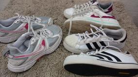 Lote 03 Pares adidas Nike