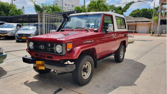 1998 Toyota Lc Machito Motor 4.5 Rojo 3 Puertas