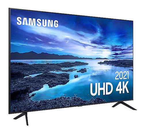 Imagem 1 de 9 de Smart Tv Crystal 4k Un50au7700gxzd 50  Hdr Wifihdmi Samsung