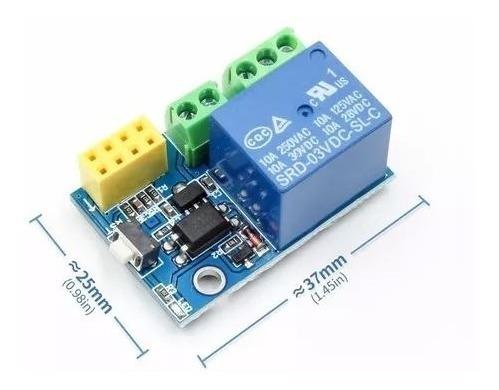 Módulo Wifi Rele 5v Para Esp8266 Esp-01s