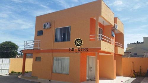 Casa Com 3 Dormitórios À Venda, 304 M² Por R$ 994.900,00 - Iguaçu - Araucária/pr - Ca0012