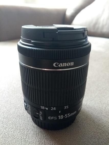 Lente Canon 18-55 Stm 3.5-5.6 Is Estabilizada