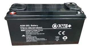 Bateria 12v 150ah Agm Gel Ciclo Profundo Wireplus