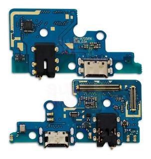 Flex Placa Pin De Carga Microfono Samsung Galaxy A70 A705