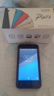 Smartphone Alcatel Pixi 4 Completo Conservado