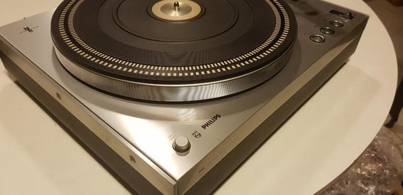 Toca Discos Philips Ga-312 Aluminium Dc Servo Perfeito