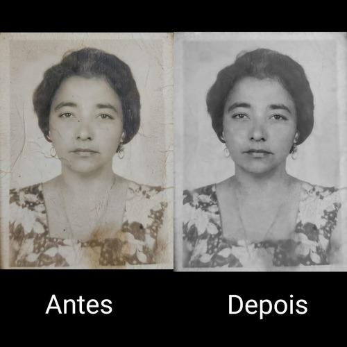 Imagem 1 de 3 de Restauração De Fotos Antigas (apenas Em Formato Digital)