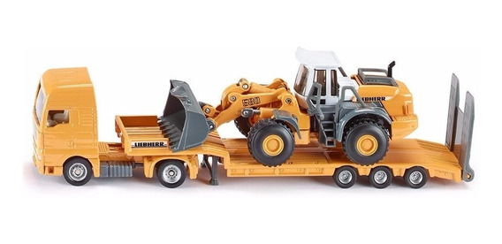 Camion Con Trailer + Topadora Metalico Escala 1:87 Siku 1839