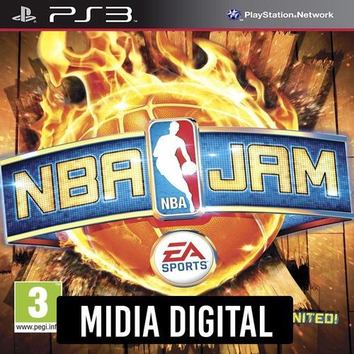 Ps3 Psn* - Nba Jam On Fire Edition