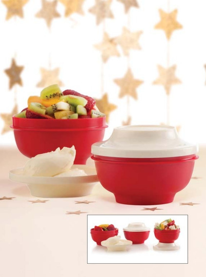 Tupperware Actualité Bowl Rojo. 330ml
