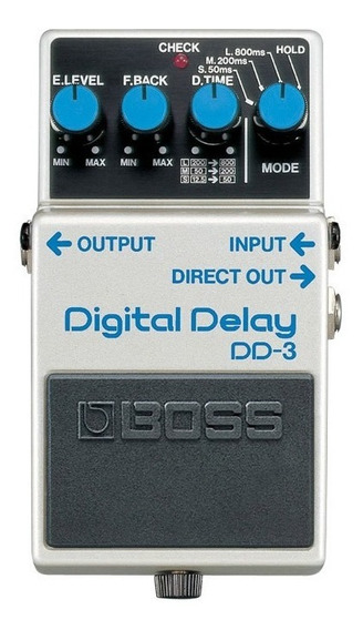 Pedal Boss Digital Delay Dd-3 | Dd3 | Com Garantia E Nfe