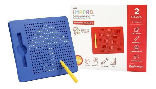 Juguetes Educativos Brain Toys Imapad Mini Azul