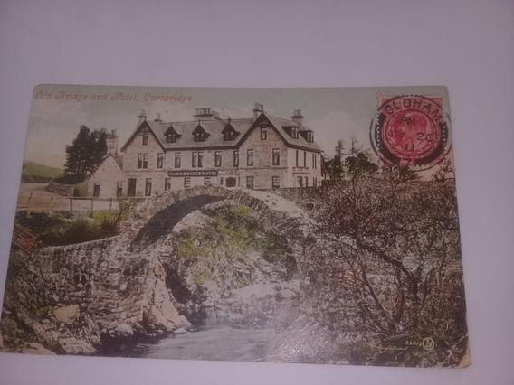 Tarjeta Postal Antigua Gran Bretaña 1920