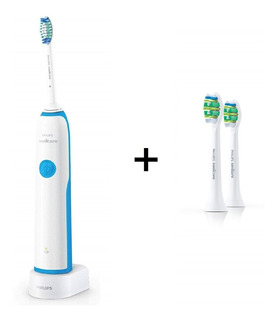 Cepillo Dental Electrico Sonicare Phillips + 2 Cabezales