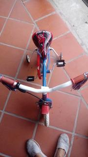 Bicicleta Para Niño Rodado 12 Spider-man