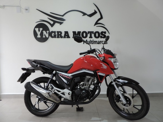 Honda Cg 160 Titan 2020 Freios Cbs