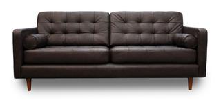 Sofa Piel Genuina - Noruega - Confortopiel