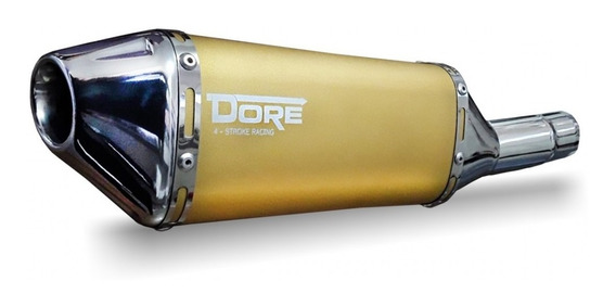 Escape Dore + Curva - Cg Titan Ou Fan (selecione) - Dourado