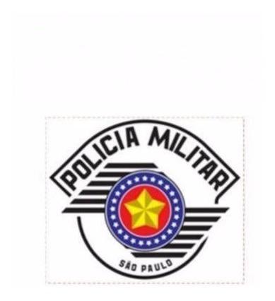 Adesivo Police Militar São Paulo Frete Grátis Todo Brasil
