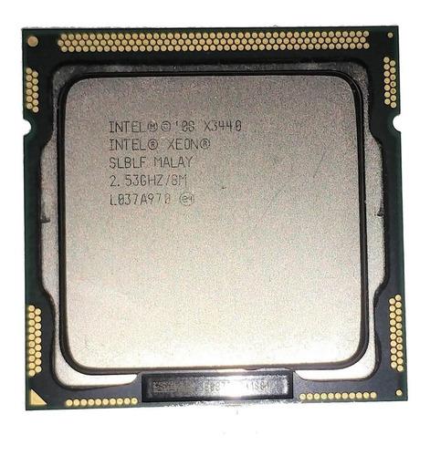 Procesador Xeon X3440 4n.8h. 2.53ghz, Lga1156, Símil Corei7.